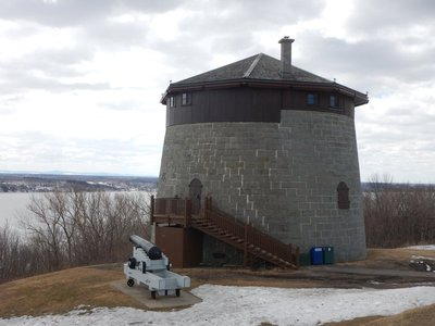 Of the 16 Martello Towers in Canada, 4 are in Quebec City because the British government feared an attack after the American Revolution