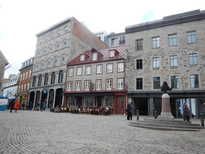 Place Royale, a square graced by a statue of King Louis XIV, is considered the birthplace of New France