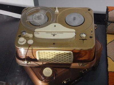 1930 tape recorder; the museum is the most popular in town