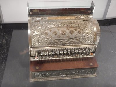 1890 cash register; some of the museum items seemed to have no Canada connection