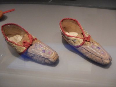 19th century moccasins; the museum had plenty of focus on the native peoples of Canada before the arrival of Europeans
