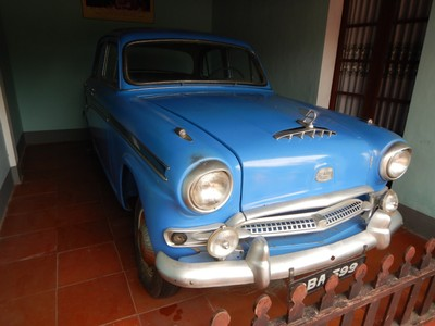 This car became famous when a Buddhist monk exited it in Saigon in 1963 and set himself on fire; this was to protest Vietnam's policies of discriminating against Buddhists and violating religious freedom
