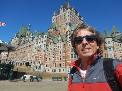 The Fairmont Le Chateau Frontenac is perhaps the most photographed hotel in the world; the 20 story central tower was added in 1924