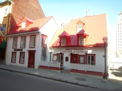 Maison Jacquet looks exactly as it did when it was built in 1677; it's the oldest house in Quebec City