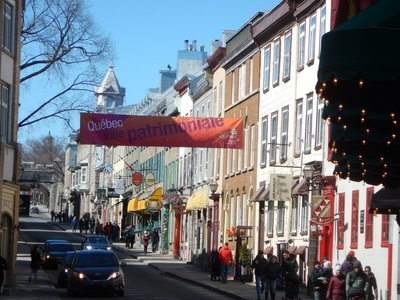 The only walled city in Canada, Quebec City gets at least 1 inch of snow approximately 150 days a year!