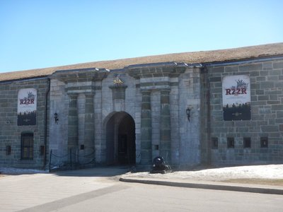 The queen's representative in Canada, the governor-general, has a residence in the Citadelle; it's home to Canada's most storied French-speaking military formation, the Royal 22nd Regiment