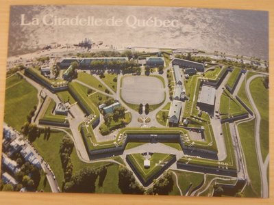The French started the Citadelle but the British ended up finishing it in 1832; the city was never attacked after completion
