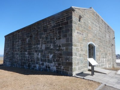 Built in 1694, the Cap Diamant Redoubt is the oldest building at the Citadelle