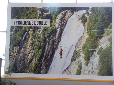 The zipline looked like it would be great fun!; I was bummed that it is closed this time of year but look forward to photos of it from Mike, Gary and Becky