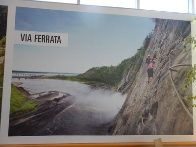 The Via Ferrata is probably beyond my capabilities; it is only open in the summer anyway