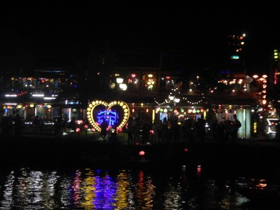 I much preferred the atmosphere of Hoi An at night compared to the day; the colorful lanterns and absence of motorcycles made the old town much more enjoyable
