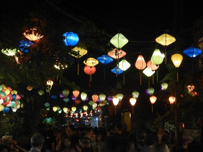 The old town of Hoi An is a UNESCO World Heritage Site since it's an exceptionally well-preserved example of a Southeast Asian trading port dating from the 15th to the 19th century
