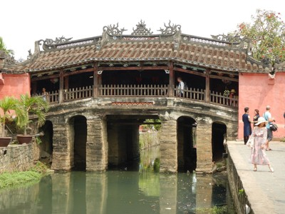 This Japanese covered bridge is the symbol of Hoi An; first built in the 1590s, the bridge linked the Japanese and Chinese that lived in Hoi An