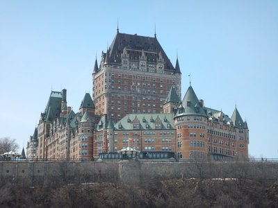 The Fairmont Chateau Frontenac no longer offers tours but I did walk around inside; it was nice but I saved lots of money by staying at the Best Western
