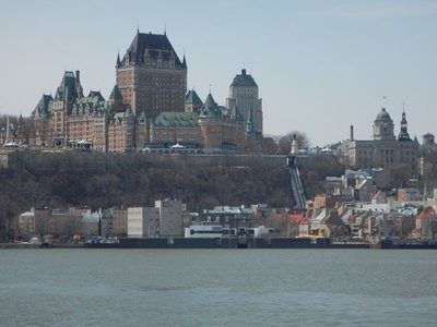 The 125 year old Chateau Frontenac has a storied past hosting guests including Lindbergh, de Gaulle, Hitchcock, Princess Grace of Monaco, Chiang Kai-shek, Paul McCartney and Celine Dion