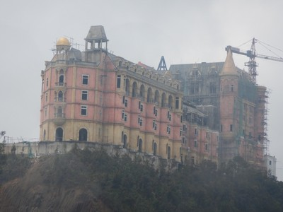 There are at least 5 huge hotels under construction at the top of the mountain as well as a couple at the bottom; currently it would be quite dead after 5 pm with only hotel restaurants and bars open