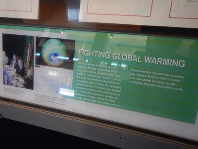 The US was leading the global fight against global warming; now the rest of the world is continuing what we started without our participation