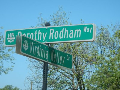 The Little Rock airport is named for Bill and Hillary; even their mothers have been honored with their own streets
