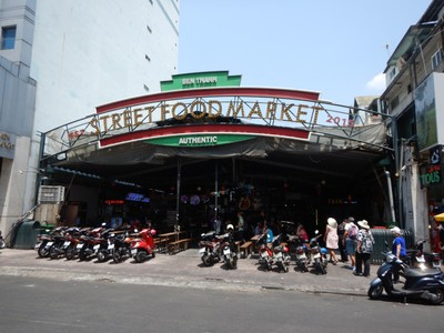 Our group stopped here for lunch; you could choose which food stall to order from and then we all sat together to enjoy our different dishes