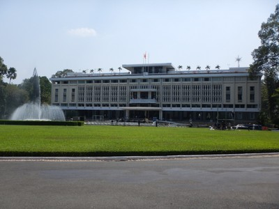 Independence Palace, aka Reunification Palace, was the workplace of the president of South Vietnam during the Vietnam War; it was also the site of the end of the war during the fall of Saigon in April 1975