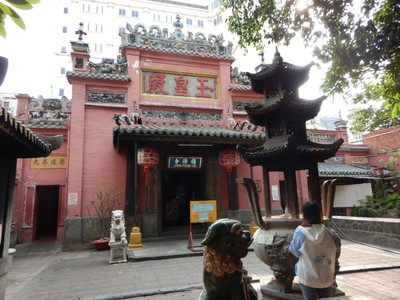 The Jade Emperor Pagoda was built by the Chinese in 1909; President Obama visited the pagoda when he came to Ho Chi Minh City in May 2016