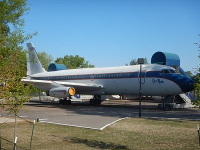 A couple of Elvis's airplanes were on display; you could walk through one of them; it costs $5 in addition to whatever Graceland ticket you had purchased