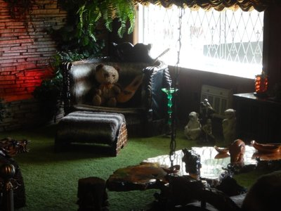 The famous Jungle Room; the song Walking in Memphis by Marc Cohn (one I really like) references Graceland and the Jungle Room; the song was later covered by Cher and Lonestar