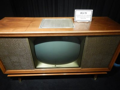 RCA gave this TV to Elvis for selling 50 million records between 1956-1960; sure doesn't look like much by today's standards