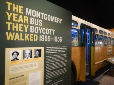 The Montgomery Bus Boycott was a seminal event in the civil rights movement which began the Monday after Rosa Parks was arrested