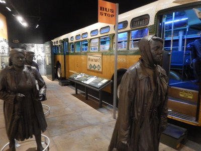 The Montgomery bus boycott would last 383 days until the US Supreme Court affirmed a lower court's decision that buses be desegregated finally allowing Blacks to sit wherever they wished