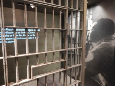 MLK's Letters from a Birmingham Jail became famous as he called on white Christians to end their passivity and challenge segregation