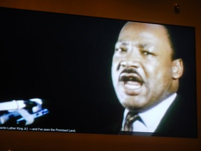 In MLK's last speech he foreshadowed his death and encouraged supporters to keep fighting even if he wasn't there to lead them