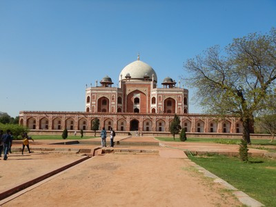 When Humayun died in 1556, his wife was so distraught over her husband's death that she dedicated her life thenceforth to a sole purpose: the construction of the most magnificent mausoleum in the Empire