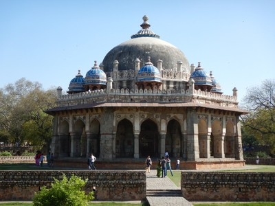 The tomb of Iza Khan was built 20 years before that of Humayun; the complex is one of the three UNESCO World Heritage SItes in Delhi