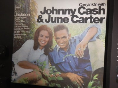 Johnny met June Carter while touring and they started an affair; after his divorce, Cash would marry June Carter in 1968; she is credited with helping Johnny kick his drug habit
