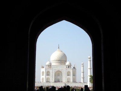 The Taj Mahal was commissioned in 1632 by the Mughal emperor, Shah Jahan (reigned from 1628 to 1658), to house the tomb of his favorite wife; it attracts more than 8 million visitors a year