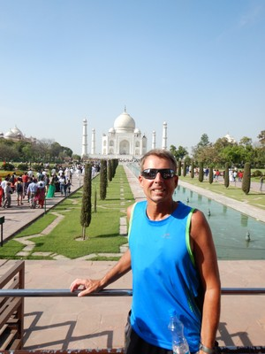 The Taj Mahal was my favorite sight in India because of its beauty, symmetry, cleanliness and relative calm; it's truly an oasis so I think the Mughal emperor definitely had the right idea