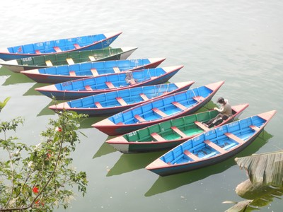 Pokhara was the most enjoyable town we visited in Nepal; the town, which rhymes with okra, was clean and had lots of trekkers going to Annapurna