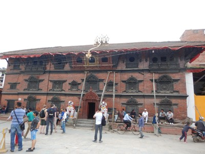 Built in 1757, Kumari Ghar (House of the Living Goddess) is known for its magnificent carvings; there was a lengthy process involved in selecting the actual living goddess
