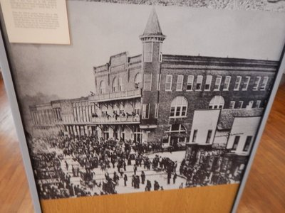 When railroads reached the area in 1888, Mount Airy rapidly grew as elegant hotels were built and industries could easily reach their Eastern markets