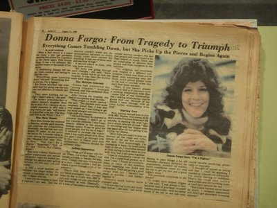 Donna Fargo's musical career was put on hold after she was diagnosed with MS in 1978; she lives in Nashville now and is recovering from a stroke