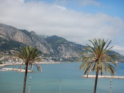 When the railroad reached Menton in 1869, tourists could reach the town from Paris in only 24 hours