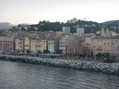 Bastia is the principal port of the island; it is located on the northeast corner of the island