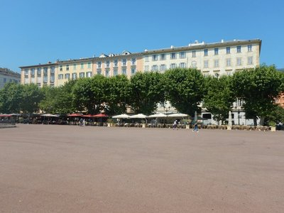 Place Saint Nicholas is a magnificent public space and measures 280 meters by 80 meters