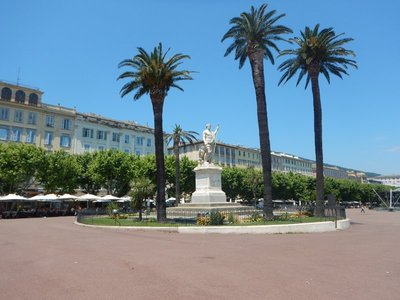 Bastia is the busiest French port on the Mediterranean; at one point I saw 5 huge ferries docked here at the same time