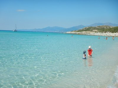 Saleccia Beach is considered one of the most beautiful on Corsica; it's often called the Bora Bora of Corsica