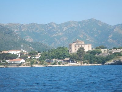 The Genoese citadel was constructed in 1440 in Saint Florent; the population of Saint Florent today is 1636