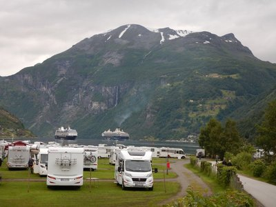 Campers very popular but driving not for everyone with narrow, winding, one lane roads
