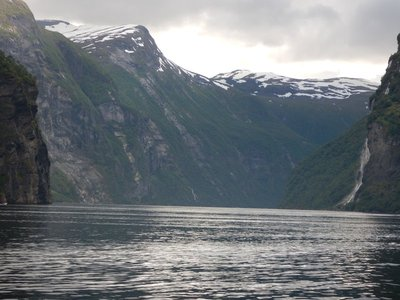 Kaiser Wilhelm visited Geirangerfjord every summer until World War 1; cruise ship tourism began in the late 19th century