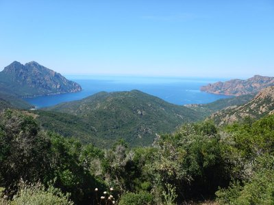 The drive from Calvi offered plenty of great vistas but there were seldom places to pull over to take photos
